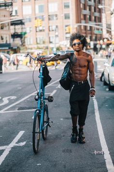 Sam Polcer New York Bike Style