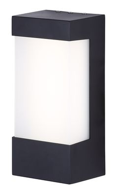 Tay collection outdoor wall light in black iol308bk our 2017 led outdoor plastic outdoor wall light brwl sq6w n bk mozeypictures Gallery