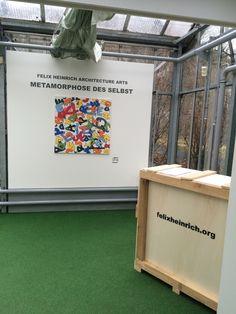 Ausstellung im Pavillon des Gartens der Schmetterlinge Schloss Sayn - Metamorphose des Selbst - bis 21.4. 2015 www.felixheinrich.org sayn.de Art Intervention, Architecture Art, Germany, Butterfly House, Contemporary Art, Gazebo, Deutsch