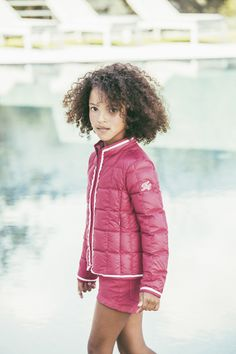 Pretty in pink. New looks for little girls in the Fay Junior SS17 collection.