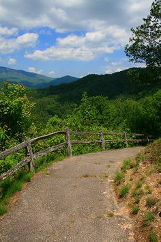 Looking over the historic Cataloochee Valley. Great Smoky Mountains National Park.
