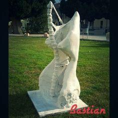 Plaster sculpture
