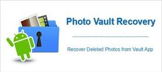 #Vault #App #Photo #Recovery: #Recover #Deleted #Photos From #VaultApp. 1: Use File Explorer #FileManager To Recover #Hidden/Inaccessible #Photos From Vault #App. 3: By Using Best Photo Vault App Data Recovery For #Android. Bonus Tips: Backup Vault App Photos. Photo Recovery Software, Recovery Tools, Data Recovery, Recover Deleted Pictures, Recover Photos, Photo Restoration, Hidden Pictures