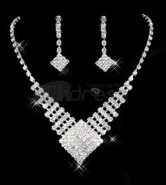 Bridal Jewellery / Bridal Accessories Cheap Wedding Accessories Sets 009