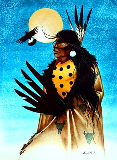Buffalo Warrior by Garry Meeches kp Modern Indian Art, American Indian Art, American Indians, Native American Artists, Canadian Artists, Indian Teepee, Indian Artwork, Feather Painting, Paintings I Love