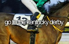 and the preakness and belmont (see a triple crown winner at belmont)