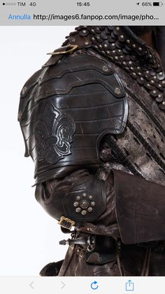 Porthos MUSKETEERS LEATHER SHOULDER single Made by AGLeatherDesign