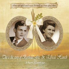 8 Best 60 Year Wedding Album Images On Pinterest Anniversaries