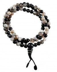 Agate Mala Beads
