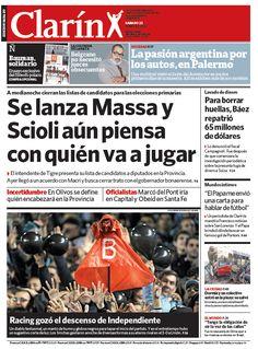 Se lanza Massa y Scioli todavía piensa con quién va a jugar. Más información: http://www.clarin.com/politica/lanza-Massa-Scioli-todavia-piensa_0_942505812.html