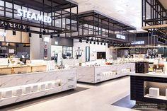 "seafood restaurant ""JUMBO"" interior design by design danaham."