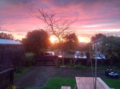 Sunset in New Zealand