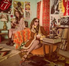thee70s: I think orange was a very popular colour in the 70′s