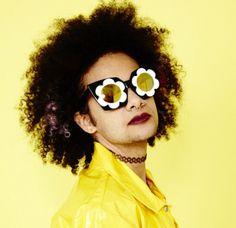 Flower Eyez for Happy Hippie Leelah, Lgbt News, Sunny Sunday, Linda Farrow, Miley Cyrus, Transgender, Eyewear, Round Sunglasses, Product Launch