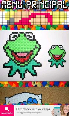 I muppet in hama beads