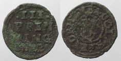 1622 Mecklenburg-Schwerin MECKLENBURG-SCHWERIN 3 Pfennig 1622 ADOLF FRIEDRICH I copper VF # 90316 ss