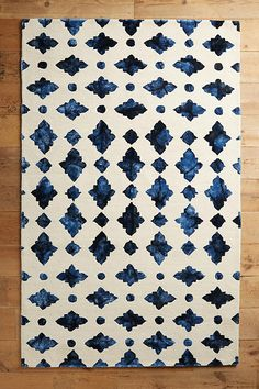 Slide View: 1: Moroccan Tile Rug