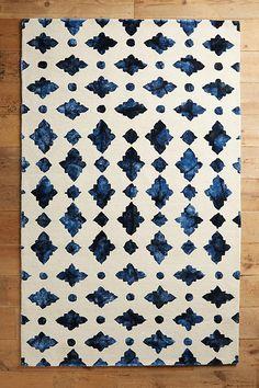 Slide View: 1: Moroccan Tile Rug