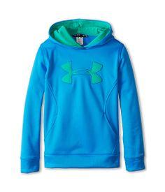 Under Armour Kids Girls' Armour® Fleece Storm Big Logo Hoodie (Big Kids)