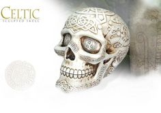 NobleWares Image of Celtic Sculpted Skull 7594 by YTC Summit