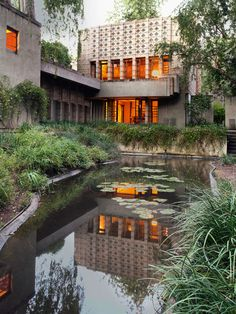 Frank Lloyd Wright, - La Miniatura house in California.  Art Experience NYC  www.artexperience...