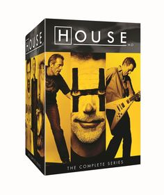House: MD The Complete Series Seasons 1-8 DVD Set