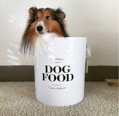 Harry Barker Bon Chien Dog Food Storage Container