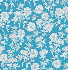 Novella by Valori Wells for Free Spirit Fabrics - Peoney in Teal