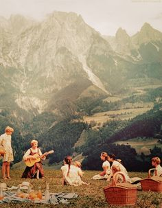 Sound of Music, my first date in college in 1965. In the '70s we would see where they filmed it in Austria.