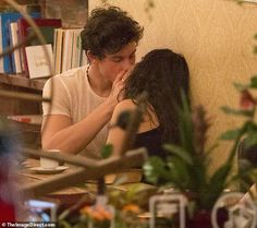 Camila Cabello and Shawn Mendes enjoyed a romantic casual date on Monday night. The pair were spotted out in Montreal, Canada, and were not shy to pack on he PDA while out in public. Shawn Mendes, Cute Braided Hairstyles, Bob Hairstyles With Bangs, The Heat, Realashionship Goals, Delaware, Montreal, Camilla Mendes, Raised Eyebrow