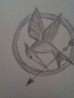 How to Draw a Mocking Jay Pin