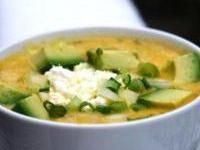 Locro- its a delicious Ecuadorian potato cheese soup. want to try and make it one day.