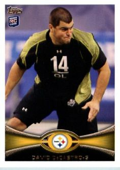 2012 Topps Football Card # 32 David DeCastro RC - Pittsburgh Steelers (RC - Rookie Card) (NFL Trading Card) by Topps. $5.00. Look for thousands of other great sportscards of your favorite player or team. Card shipped in Top Load and/or Soft sleeve to protect it during shipping. Card is in MINT condition!. Single 2012 Topps Football Trading Card. NOTE: Stock Photo Used. Contact seller if there is no image or you have questions. 2012 Topps Football Card # 32 David DeCastro R...