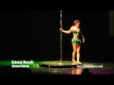 Mother and Daughter Pole Dance Duo