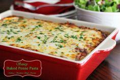 Melissa's Southern Style Kitchen: Saucy Baked Penne Pasta