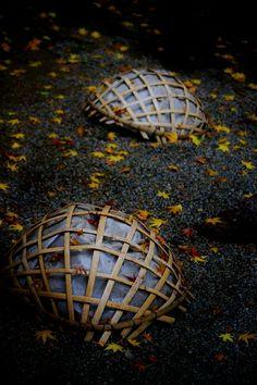 Japanese bamboo basket, Kago 籠