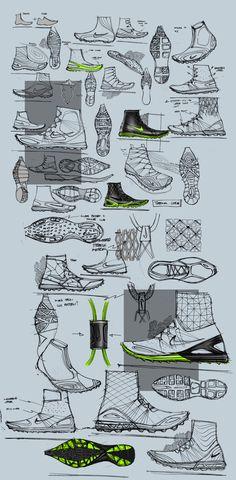 Nike ARKTIKA by Matthew Choto, via Behance.
