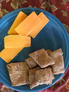 My first attempt at making crackers. Yummy!