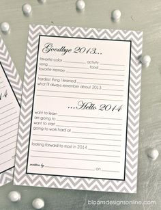 2014 Resolution Cards