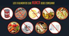 9 alimentos básicos que son promovidos como saludables, pero que en realidad son muy dañiños. Como los alimentos enlatados y aceites vegetales. http://espanol.mercola.com/boletin-de-salud/9-alimentos-no-saludables.aspx