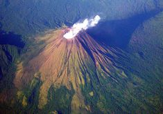 100 Incredible Views Out Of Airplane Windows. Volcán Barú, Panama. 11,398 feet above sea level.