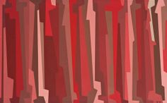 Karl Benjamin, Red, Pink & Umber I, 1958