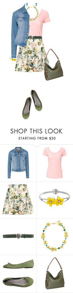 """""""Casually Pretty"""" by miladyc ❤ liked on Polyvore featuring French Connection, Simplex Apparel, Pull&Bear, Giordano Frangipani, Tory Burch, ANNA BAIGUERA and Nino Bossi Handbags"""