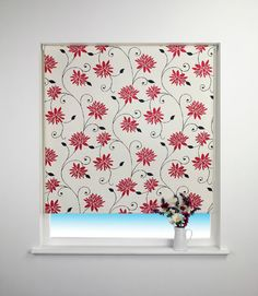 Spring Bloom Blackout Roller Blind - for kitchen. Not too bright but still adds colour