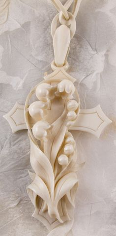 Victorian Ivory Cross...takes my breath away!!