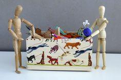 Decoupage, wooden  box. Home Caja de madera en decoupage. www.elpiojito.es