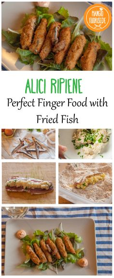 Finger Food appetizer. Alicine ripiene e fritte come stuzzichino o come secondo sfizioso, scoprite qui la ricetta: http://mangiofuorisede.altervista.org/finger-fried-frittura-di-alici-ripiene/ #finger #food #fingerfood #alici #pesce #frittura #fried #fish #appetizer #idea #chiprecipe #recipe #chip