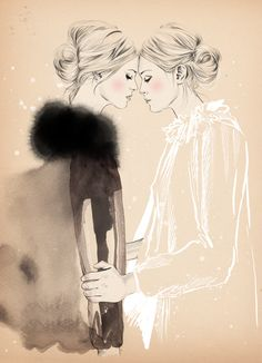 Without Romeo: Ilustração de moda - Esra Roise Fashion Sketchbook, Fashion Sketches, Drawing Fashion, Fashion Illustrations, Auryn, Lesbian Art, Illustration Sketches, Art Plastique, Oeuvre D'art
