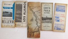 Mixed LOT 5 Vtg Visitor Guides Travel Washington by eclecticka