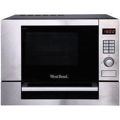 West Bend Ag028plv Microwave Pizza Oven Grill 1000 Watts 1 Cubic Ft